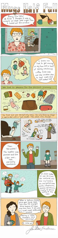 The Battle of the Five Layers | ParentSavvy #parenting #comic