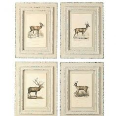 Farmhouse Deer and Darlings, Set of 4