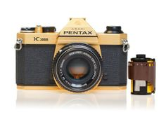Gold Pentax K1000 Camera | Catherine Zoraida | Wolf & Badger {summer loving} {plated in 18ct gold}