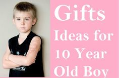 If you are finding some good gifts for a 10 year old boy then you must refer these perfect gift ideas.