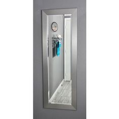 Shop for American Made Rayne Silver 21 x 60-inch Slender Body Mirror. Get free shipping at Overstock.com - Your Online Home Decor Outlet Store! Get 5% in rewards with Club O!