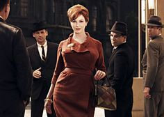 Joan Holloway: so classy, even the men have to look.