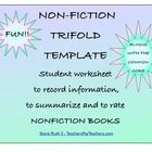 This non-fiction student worksheet template is best used with non-fiction books, autobiographies, biographies, articles and other fact based text. ...