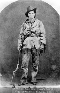 You've probably heard of Calamity Jane. But how much of her real life story do you know? While much of her life is still speculation, what we do know is wild. Calamity Jane, Asian History, British History, American History, Historical Women, Historical Pictures, Titanic, American Spirit, American Art