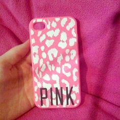 iPhone 4/4s Great condition, super cute PINK Victoria's Secret Accessories
