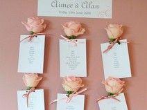 Tischplan für Gäste (Hochzeit,Geburtstag,Taufe)