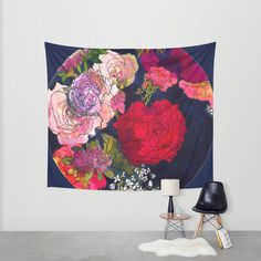 You Promised Me Roses Wall Tapestry by Marcella Wylie | Society6