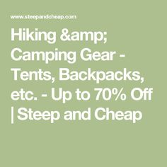 Hiking u0026 C&ing Gear - Tents Backpacks etc. - Up to 70%  sc 1 st  Pinterest & 8 Motorcycle Camping Gear Essentials for Under $300 - Page 10 of ...