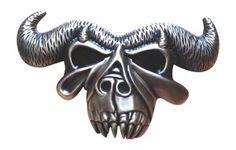 JK Trading Men's Silver Danzig Kiss Skull Belt Buckle! $15.99  http://skullcart.com/jk-trading-mens-silver-danzig-kiss-skull-belt-buckle/ #skull #skulls #belt #buckle #skullcart