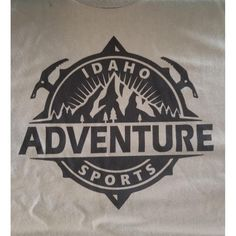Idaho Adventure Sports T-Shirt Olive Green 1ba6af96b724