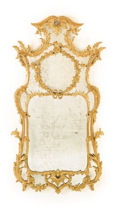A fine George III giltwood pier mirrorin the manner of John Linnellcirca 1760 | Lot | Sotheby's