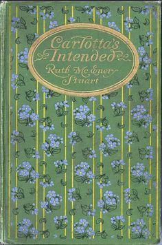 Antique decorative publishers binding by Bertha Stuart, 1899