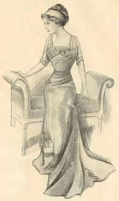 Knick of Time: Antique Graphics Wednesday - 1900s Fashion Images