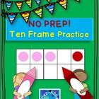 NO PREP… Just print and go!  This packet includes 10 pages of possibilities ~ 4 sets of practice pages support students' number sense while offerin...