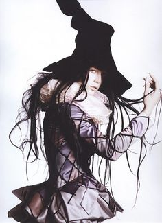 """Raquel Zimmermann in John Galliano for Christian Dior Haute Couture Fall 2007 