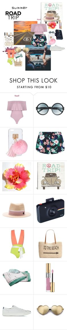 """""""Untitled #225"""" by slayedbyk on Polyvore featuring Tom Ford, Ashlyn'd, New Look, iCanvas, Maison Michel, Style & Co., Hermès, Yves Saint Laurent, Converse and Wildfox"""
