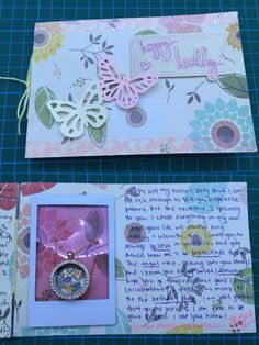 Floral theme card for a close friend