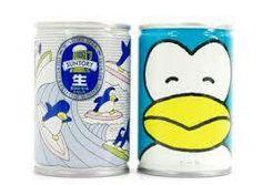 サントリー生ビールペンギン缶