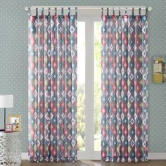 product image for Regency Heights Jax Tab Top Window Curtain Panel