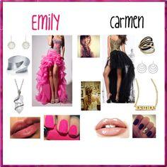 """Lena Sweet 16 Princesses #2 & #3"" by jasmin127 ❤ liked on Polyvore"