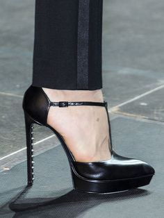 50 of the Best Shoes from the Spring 2013 Runways: Saint Laurent.