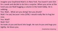 Imagine One Direction - Niall