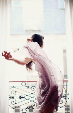 flowy dress / Erin Fetherston
