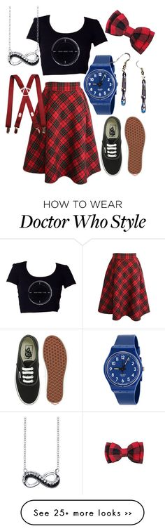 """""""Time Doctor Who Inspired Outfit"""" by eninjachic77 on Polyvore"""
