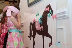 Pin the Bow on the Pony - Kentucky Derby Party