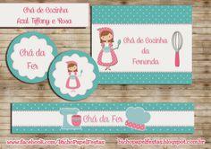 Convites Chá de Cozinha (Para Imprimir)
