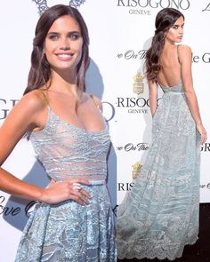 "226.3k Likes, 751 Comments - Sara Sampaio (@sarasampaio) on Instagram: ""Last night at @degrisogono party wearing beautiful @eliesaabworld couture ❤️"""