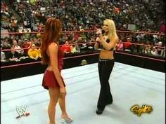 Trish Stratus & Christy Hemme Segment (RAW February 14, 2005)