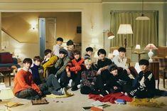 a whole family picture :') Seungkwan, Wonwoo, Jeonghan, Seventeen Funny, Seventeen Wallpapers, K Idol, Pledis Entertainment, Hoshi, Vernon
