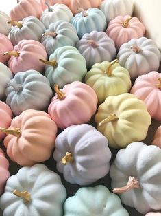 Mix things up this season with pastel Halloween decor and party supplies that put candy-coated colors front-and-center. Pink Halloween, Holidays Halloween, Halloween Crafts, Halloween Decorations, Halloween Party, Fall Birthday Decorations, Pastel Party Decorations, Halloween Havoc, Chic Halloween Decor