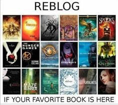 I am number four, the lost hero, twilight, the hunger games, divergent, maze runner, ref pyramid, and lightning thief I think I have a problem