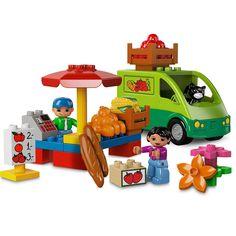 #LEGO #Duplo koleksiyonundan pazar yeri.     http://www.vipcocuk.com/K2301,lego.html