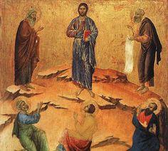 It's Transfiguration Sunday