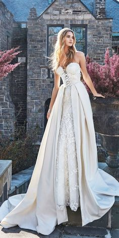 27 Unique & Hot Sexy Wedding Dresses ❤ See more: http://www.weddingforward.com/sexy-wedding-dresses-ideas/ #wedding