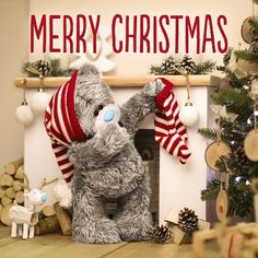 Cards & Stationery Me To You Wonderful Sister Hologram Christmas Card Tatty Teddy Bear & Garden Christmas Cards 2017, 3d Christmas, Printable Christmas Cards, Christmas Templates, Christmas Wishes, Christmas Pictures, Christmas Greetings, Christmas And New Year, Christmas Decorations