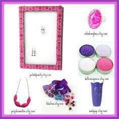 jewelry holder ~ justaddjewelry.etsy.com ring ~ infashionglass.etsy.com cocktail sugar ~ dellcovespices.etsy.com vase ~ nashpop.etsy.com bracelet ~ bluetina.etsy.com necklace ~ purplesmoothie.etsy.com  #valentine #gifts #jewelry #forher