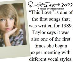 This Love is perfect in every way. I'm so happy she wrote it alone.
