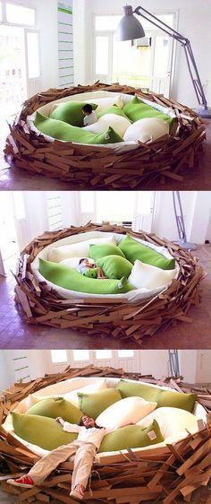 Cool nap & sleep space :)