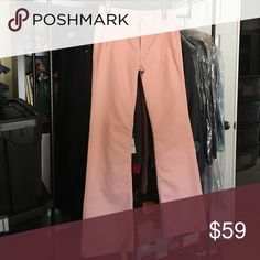 """💸Mother The Blush trouser in size 26 💸Mother The Blush trouser in size 26 inseam 34"""" and rise 9"""". Leg width opening is 10"""" across. This genuine pair of Mother trousers are a beautiful blush color with two slanted pockets in front and two rear pockets. Trousers are flare leg to make your shoes float and elongate your legs MOTHER Pants Trousers"""