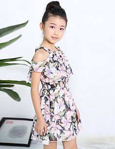 Frock For Teens, Outfits For Teens, Cute Outfits, Kids Flower Girl Dresses, Girls Dresses, Kids Clothing Brands, Kids Fashion Photography, Cheap Kids Clothes, Kids Frocks