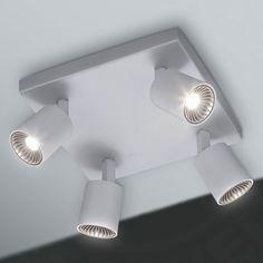 Ronde LED plafondlamp Esra voor de badkamer-9978020-30 | niet ...