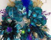 Peacock Wreath