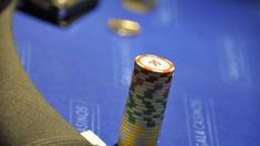 Man takes on machine at Texas Hold em poker