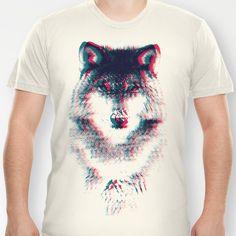Act like a wolf.  T-shirt by Mason Denaro - $18.00