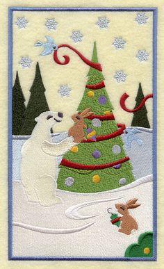 Christmas Wonderland Panel 3