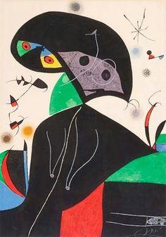 Miró: Gaudì XVIII, 1979